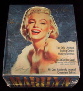 1993 MARILYN MONROE TRADING CARDS SEALED BOX-36 PACKS