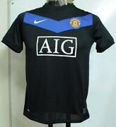 Manchester United Away Shirt Boys