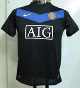 Manchester United Away Shirt Boys