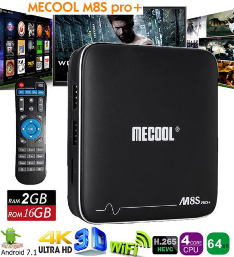 M8s Pro Android 7 1 Quad Core 2gb 16gb 2 4g Wifi Dolby 4k Hd Hdr 3d Smart Tv Box