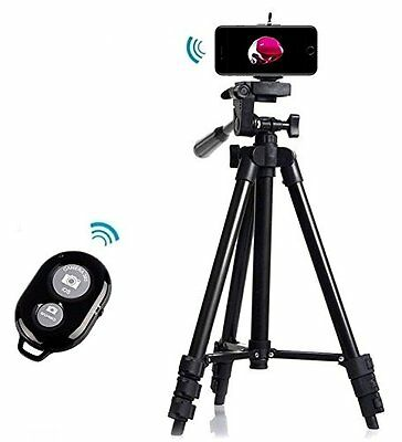 Professional Tripod Mount Holder Camera Bluetooth Remote Shutter iPhone 7&7+
