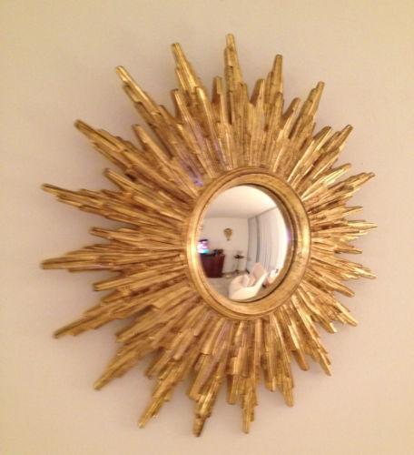 Antique Sunburst Mirror Ebay