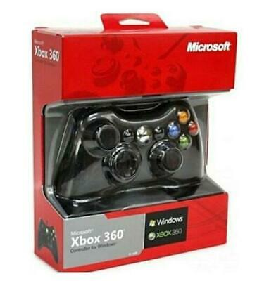 Microsoft Xbox 360 wired  Controller Remote (BLACK) -UK 2020