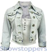 Ladies Denim Jacket Size 12 14