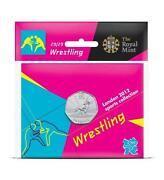 Olympic 50p Wrestling