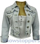 Womens Light Denim Jacket