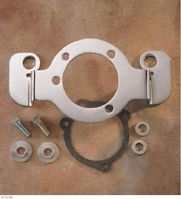 Chrome Air Cleaner Bracket For Harley Davidson CV Carburetor Carb XL 1988-2006