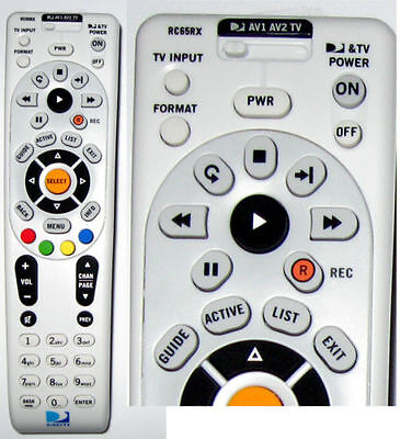 NEW DirecTV RC65RX UHF RF UNIVERSAL REMOTE CONTROL RF-XMP Direct TV