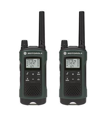 Motorola MOT-T465 Talkabout 2-Pack Weatherproof NOAA GMRS/