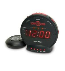 Sonic Alert SBB500SS Extra-Loud Dual Alarm Clock with Powerful Bed Shaker