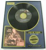 Elvis 45 Love Me Tender