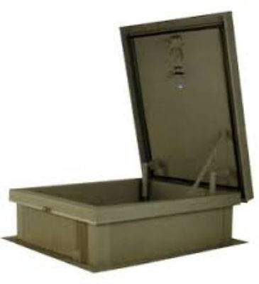Lane-aire Galvanized Steel Roof Hatch - 30 X 54