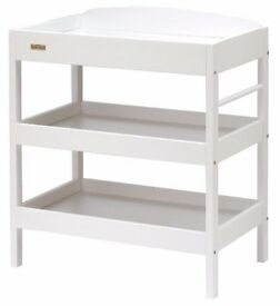 EAST COAST CLARA WHITE DRESSER BABY CHANGING UNIT TABLE
