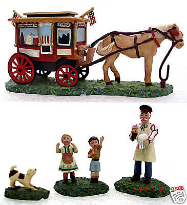 Dept. 56 Seasons Bay Here Comes the Ice Cream Man 53314 New in Box