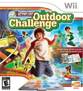 Nintendo Wii Active Life Outdoor Challenge Game/Mat