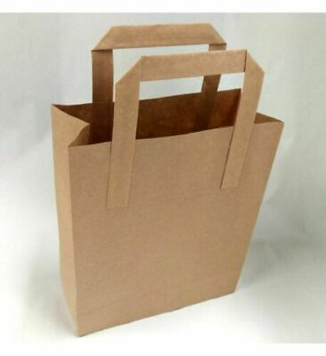 ECO PERSONALISED PAPER CARRIER BAGS • CUSTOM PRINTED BAG •  SHOP LOGO GIFT