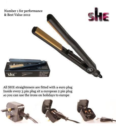 She Hair Straighteners Ebay