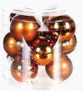 Weihnachtsbaumkugeln Glas