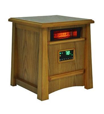 LifeSmart LS-8WIQH-LB-IN 8 Element Infrared Heater Wood Cabinet (ls8wiqhlbin)