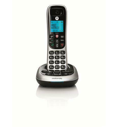 Motorola CD4011 DECT 6.0 Cordless Phone with Answering Machine and Call Block