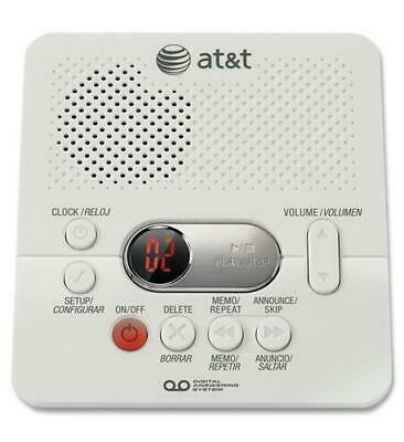 AT&T 1740 Digital Answering Machine System 60 Minutes Remote Access Telephone