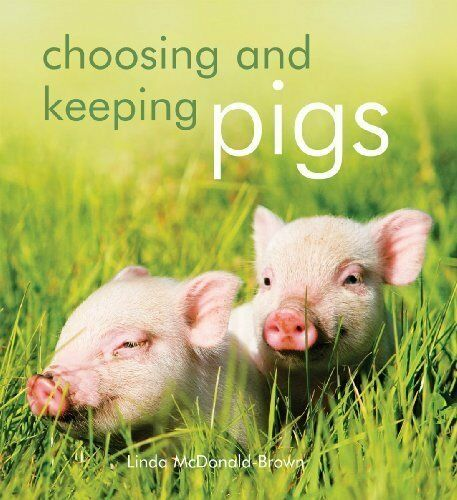 Choosing and Keeping Pigs By Linda McDonald-Brown New Book