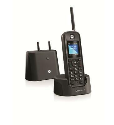 Motorola By Telefield MOTO-O211 Long Range Rugged Cordless Black (motoo211)