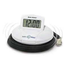 Sonic Alert Sonic Boom SA-SBP100 Sonic Bomb Travel Alarm Clock w/ Bed Shaker
