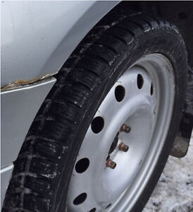 Almost New Winter Tires 5x100