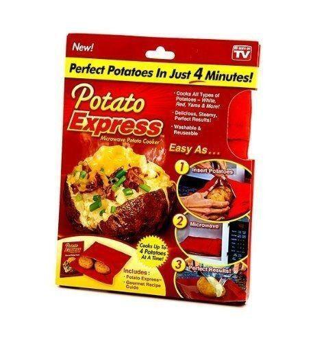 Potato Bag: Microwave Cooking Gadgets