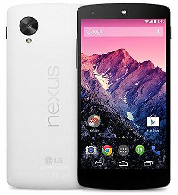 New Unlocked LG Google Nexus 5 D820 32GB GSM Quad Core 4G LTE Smartphone White