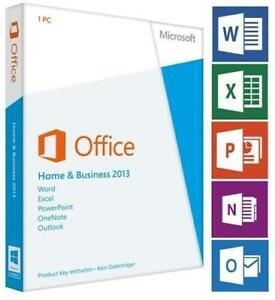Microsoft Office Home and Business key 2013