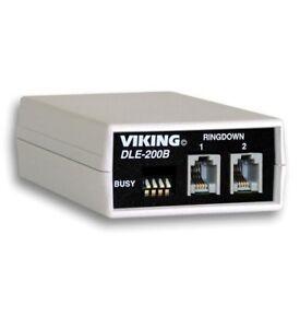 Viking DLE-200B 2-Way Line Simulator Emulator DLE200B NEW