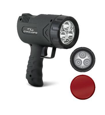 Cyclops Sirius 500 Lumen LED Rechargeable Handheld Light Spotlight AC 12V X500H (Handheld Led Light)