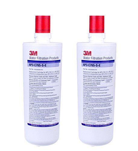 2x Genuine 3M AP3-C765S-E WATER FILTER with SCALE INHIBITOR