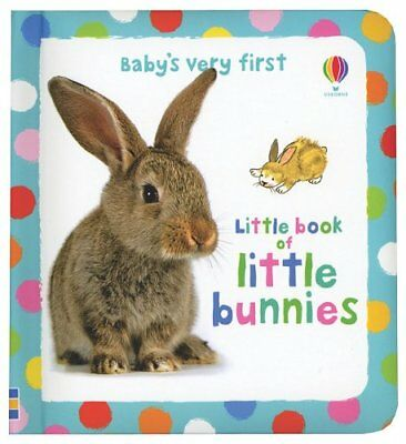 Babys Very First Little Book of Little Bunnies (B Babys Very First Book