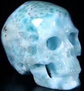Larimar Carving