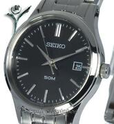Seiko Ladies Black Watch
