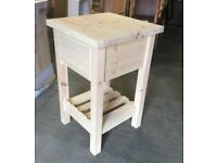 Solid Pine Butchers Block with Drawer