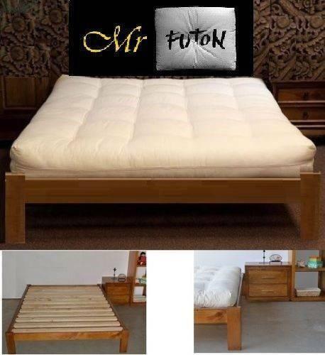 Osaka Queen Timber Futon Bed Frame Base