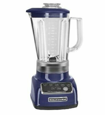 KitchenAid RKSB1570BU 5-Speed Blender - Cobalt Blue (Certified Refurbished)