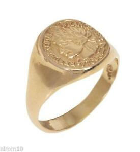 Gold Coin Ring Ebay