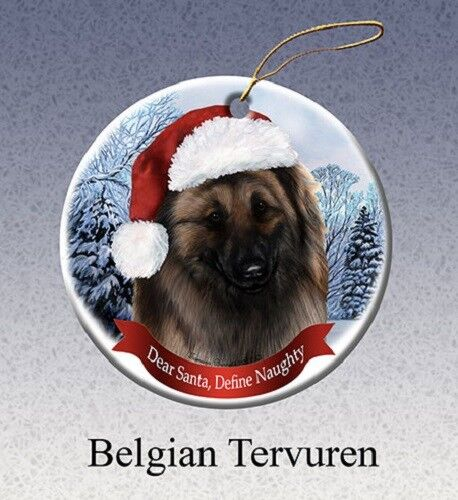 Define Naughty Ornament - Belgian Tervuren 018