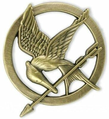 Katniss Everdeen Cosplay Prop Brooch Badge  Mockingjay Pin The Hunger Games #LK3](Mocking Jay Pin)