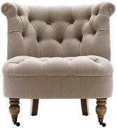Antique Tufted Chair