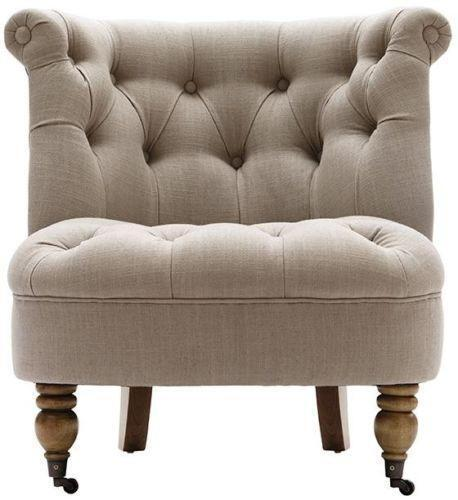 Restoration Hardware Ebay: Antique Tufted Chair