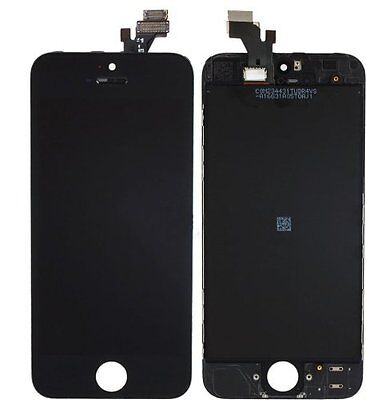 Front Housing LCD Touch Digitizer Glass Screen Assembly OEM for Iphone 5 Black on Rummage