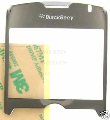 (Silver BlackBerry Curve 8350i 8330 8320 8310 8300 LCD Lens Glass Cover Screen)