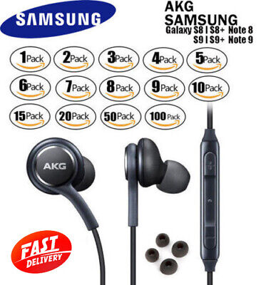NEW Orginal Genuine Samsung AKG Stereo Headphones Earphones In Ear Earbuds Lot