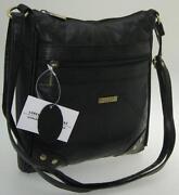 Ladies Black Genuine Leather Handbag